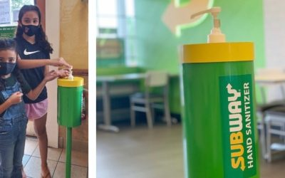 Subway finds incredible resource for hand sanitizing products